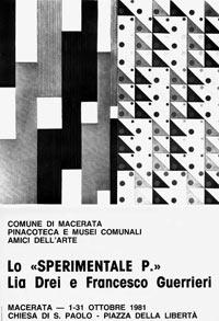 Manifesto Sperimentale P, Macerata, 1981
