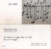 Catalogo mostra personale di Lia Drei, Galleria Fiumarte, Roma, 1980